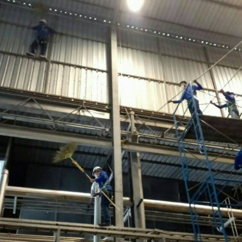 factory cleaning